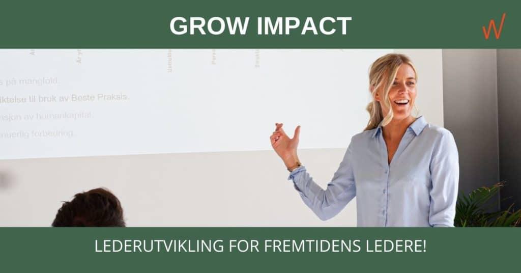 GROW Impact: Lederutvikling for fremtidens ledere!