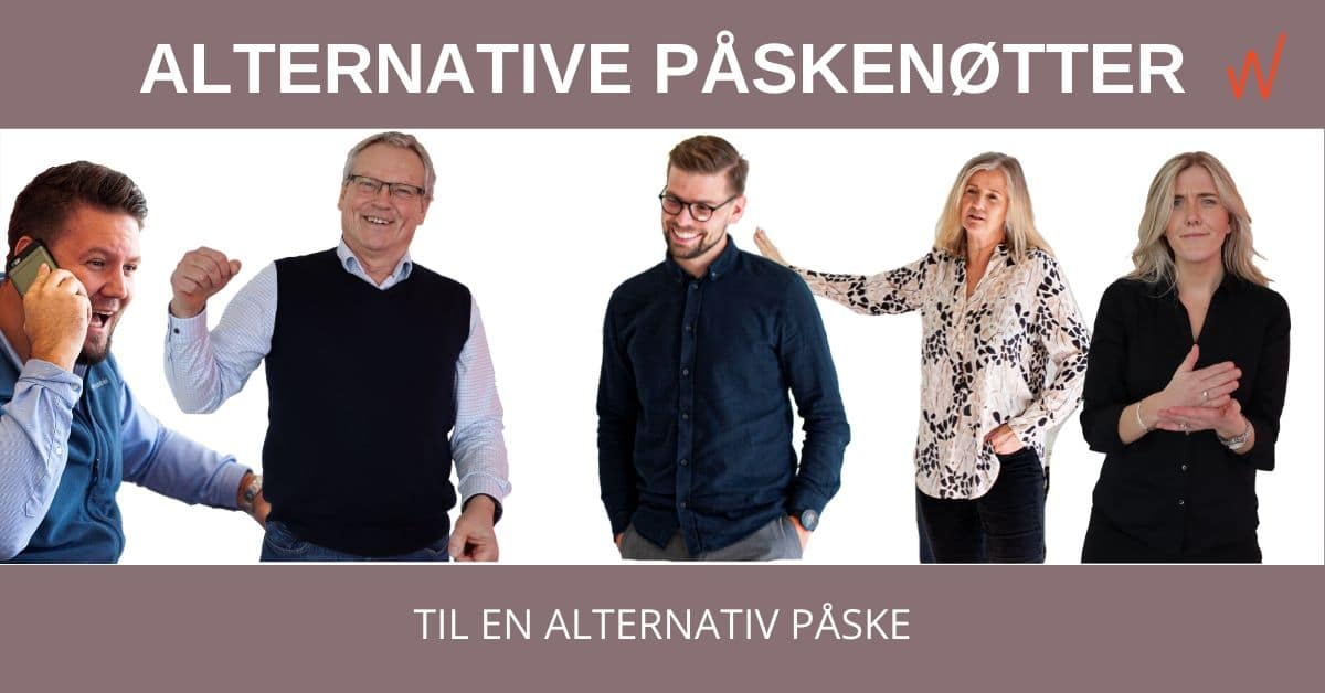 Alternative påskenøtter til en alternativ påske!